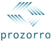 Лого прозорро