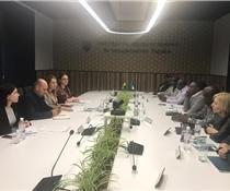 Інна Мєтєлєва обговорила з представниками нігерійської делегації розвиток двосторонньої співпраці в сільському господарстві