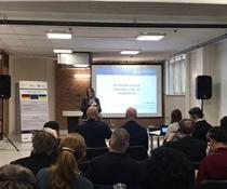 Інна Мєтєлєва виступила на українсько-німецькому форумі харчових продуктів